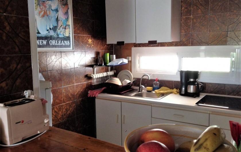 Location de vacances - Appartement à Santa Eulària des Riu - COCINA