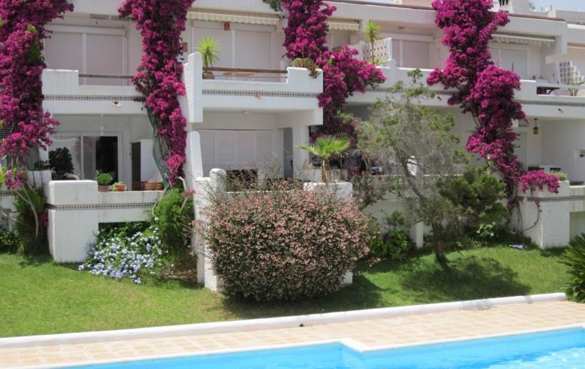 Location de vacances - Appartement à Santa Eulària des Riu - VISTA DESDE CASA
