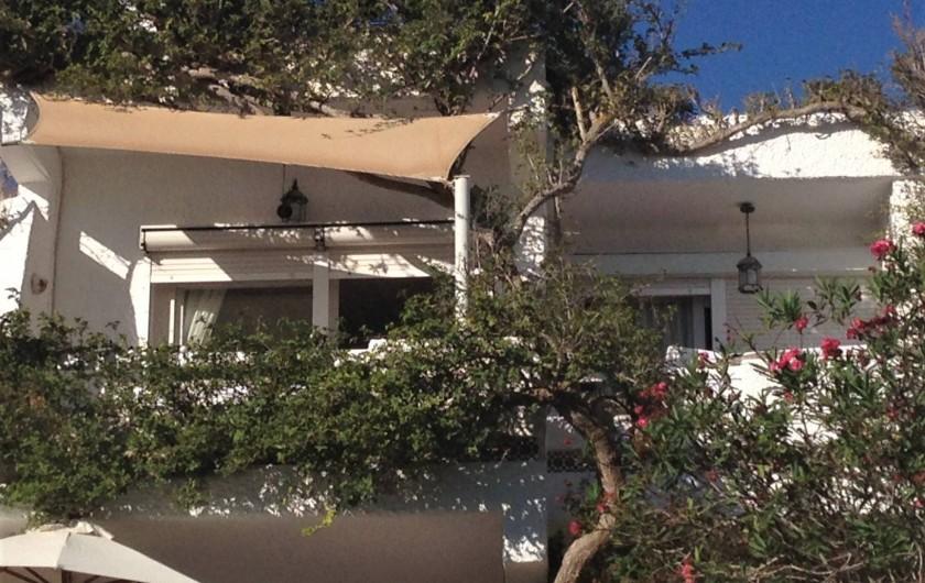 Location de vacances - Appartement à Santa Eulària des Riu - TERRAZA DE ATRAS