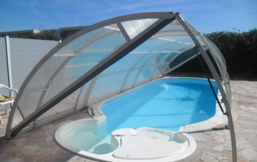 Location de vacances - Appartement à Six-Fours-les-Plages - PISCINE 7.50 SUR 3