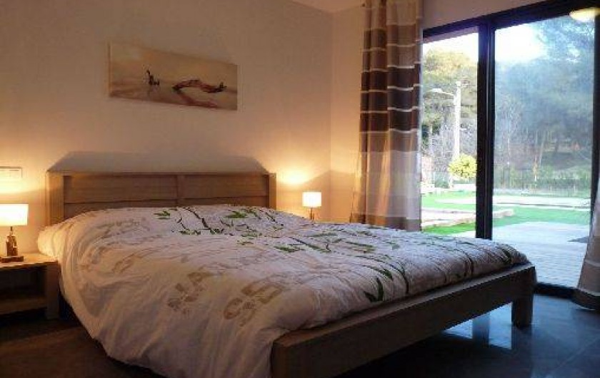 Location de vacances - Villa à Agay - chambre 1