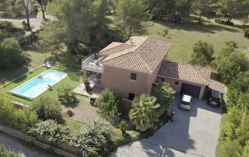 Location de vacances - Villa à Agay - villa cap dramont