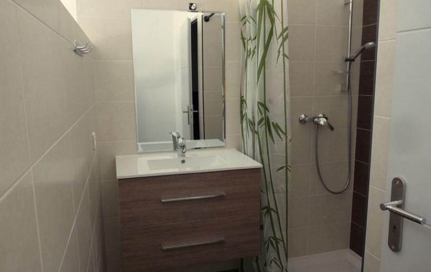 Location de vacances - Villa à Agay - salle d'eau wc 2