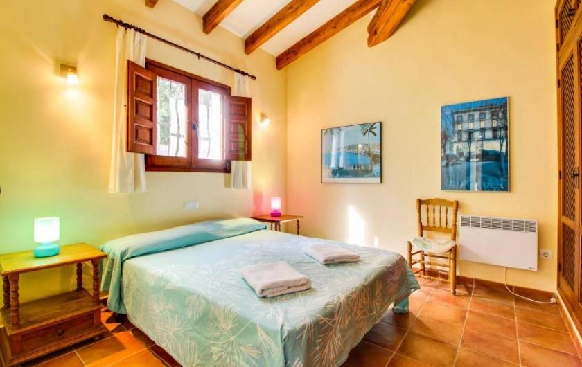 Location de vacances - Villa à Xàbia - CHAMBRE DOUBLE  AVEC DOUCHE