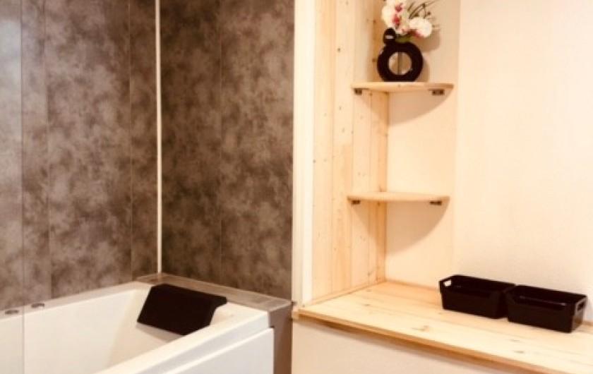 Location de vacances - Appartement à Chauvet - Salle de bain