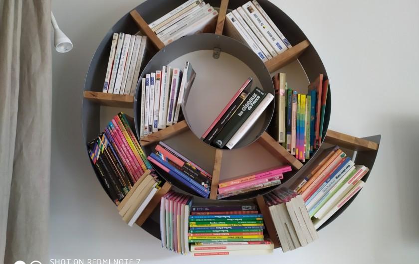 Location de vacances - Studio à Saint-Lary-Soulan - bibliothèque-serpentin avec livres pour enfants et grands