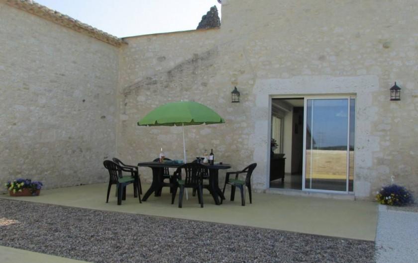 Location de vacances - Villa à Riocaud - Terrasse