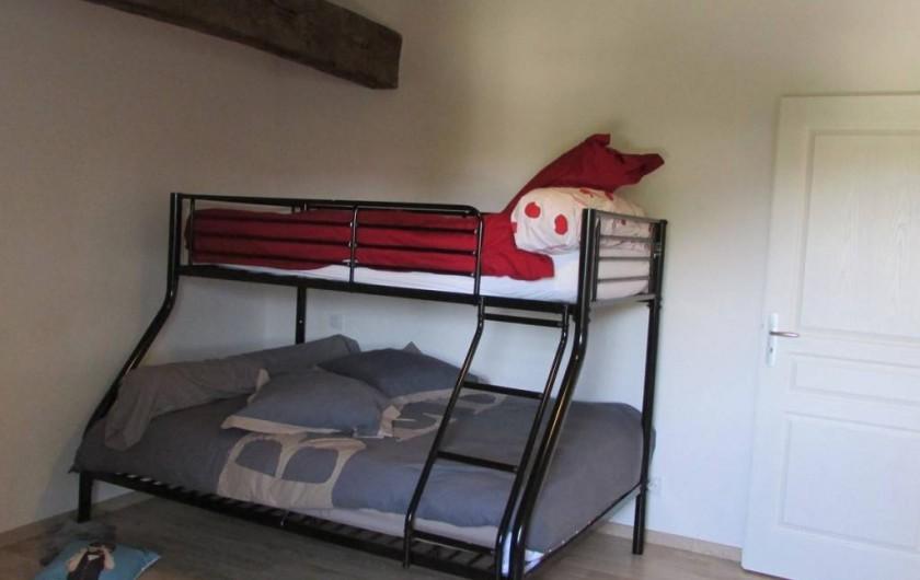 Location de vacances - Villa à Riocaud - Chambre des enfants
