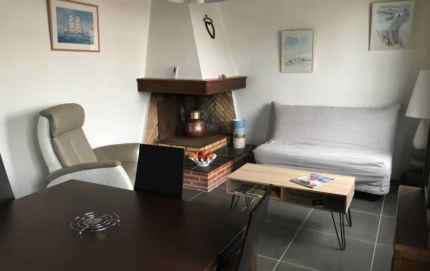 Location de vacances - Appartement à Barbâtre - Séjour
