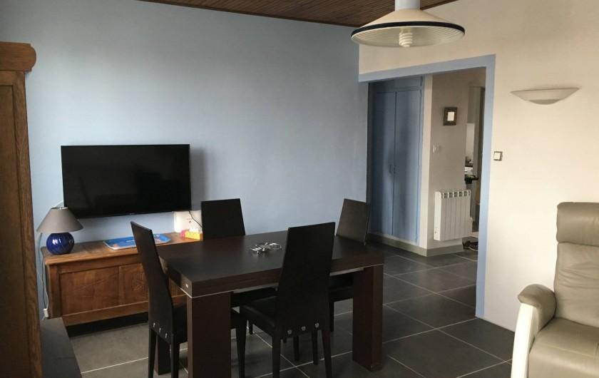 Location de vacances - Appartement à Barbâtre - TV grand écran