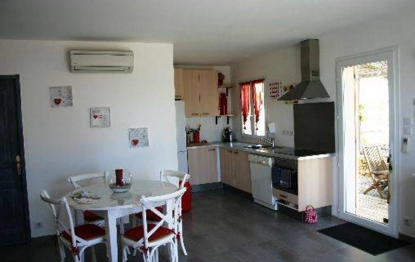 Location de vacances - Gîte à Draguignan - Coté cusine