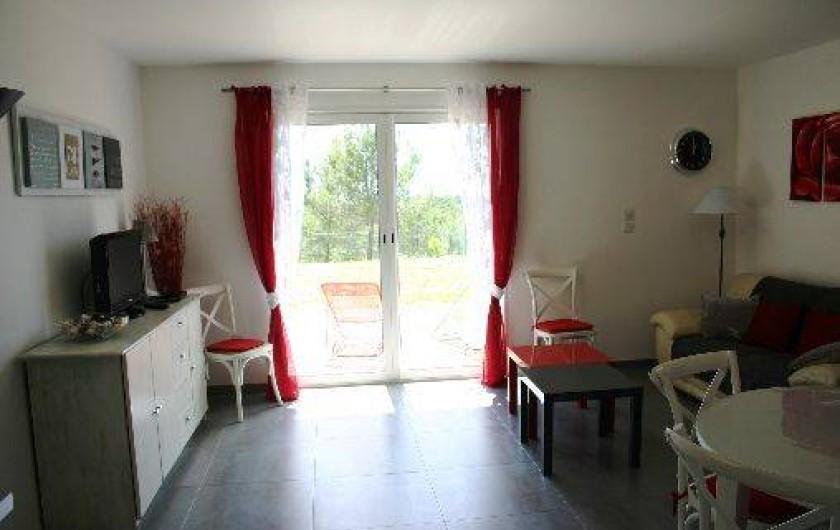 Location de vacances - Gîte à Draguignan - Vue sur le sud