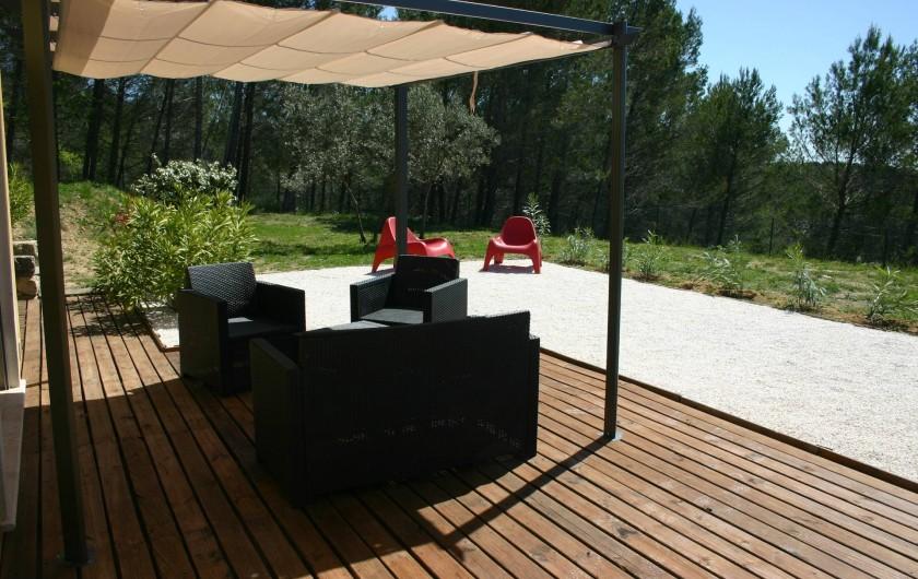 Location de vacances - Gîte à Draguignan - Coté sud pour des moments de détente