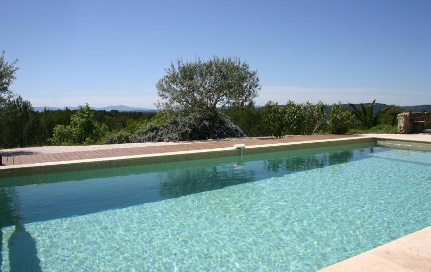 Location de vacances - Gîte à Draguignan - Vue sur les montagnes