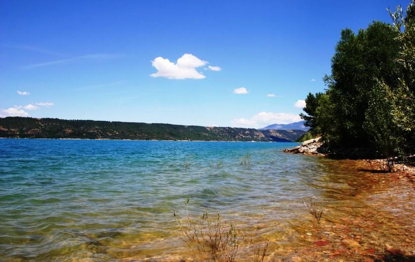 Location de vacances - Gîte à Draguignan - Le lac de Sainte Croix - 40 minutes