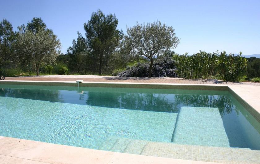Location de vacances - Gîte à Draguignan - Vue sur la verdure