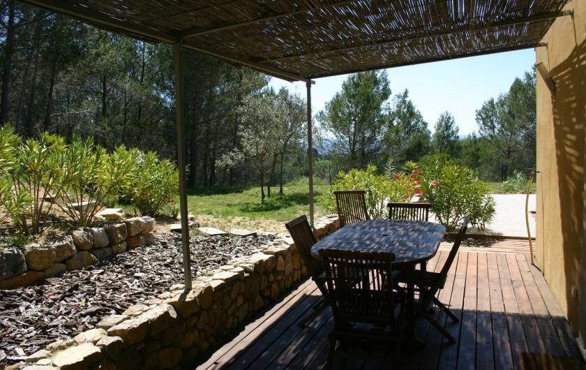 Location de vacances - Gîte à Draguignan - Repas à l'extérieur
