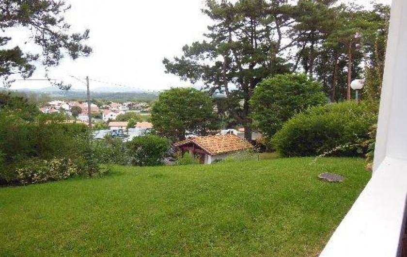 Location de vacances - Appartement à Bidart - Parc arboré