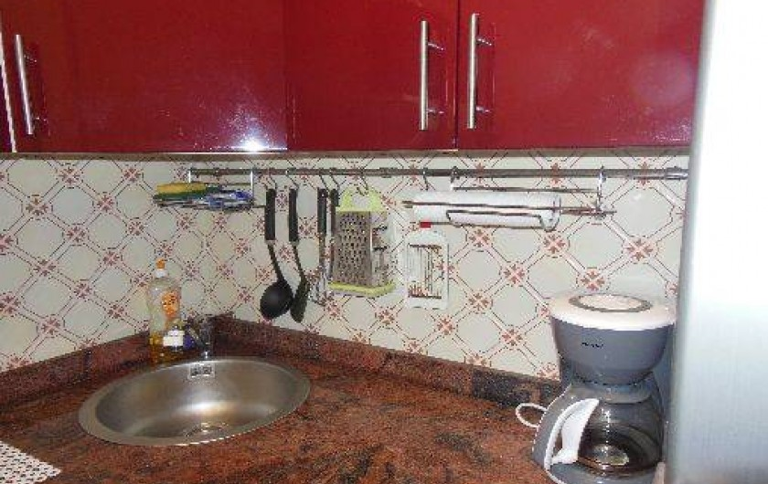 Location de vacances - Appartement à Bidart - Cuisine
