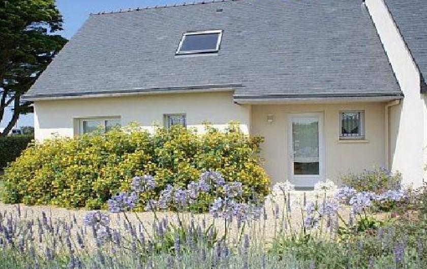 Maison avec jardin clotur entre brest et roscoff bord de for Cloture bord de mer
