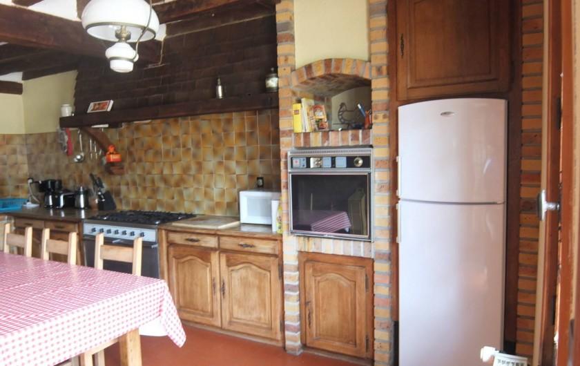 Location de vacances - Gîte à Souesmes - cuisine
