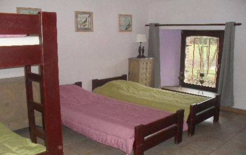 Location de vacances - Gîte à Anor - Chambre