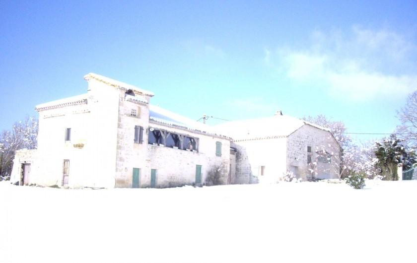 Location de vacances - Villa à Montdoumerc - Sous la neige