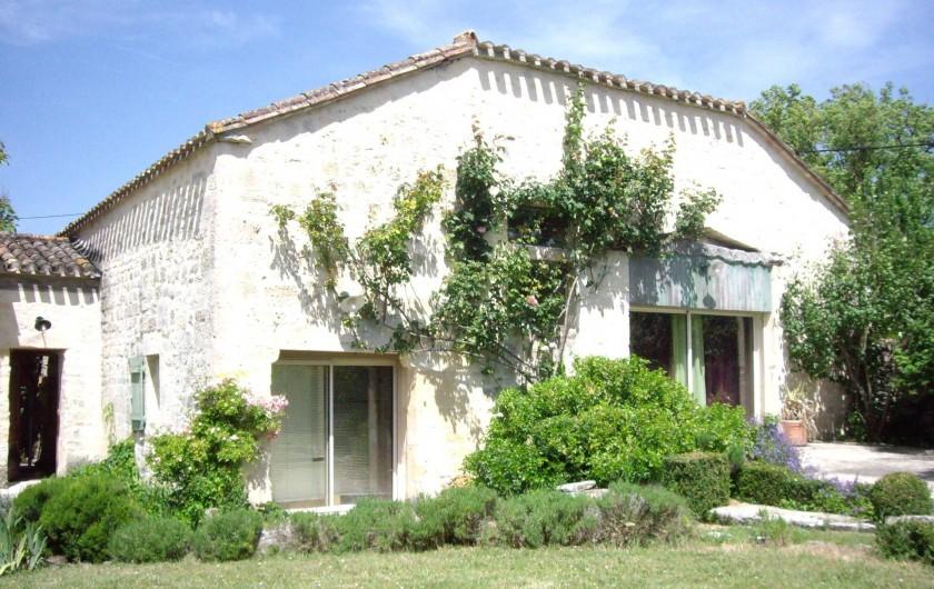 Location de vacances - Villa à Montdoumerc - Une des 4 entrées : Entrée Est