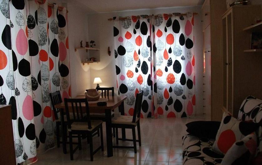 Location de vacances - Appartement à Puerto de Mazarrón - grande salle a manger