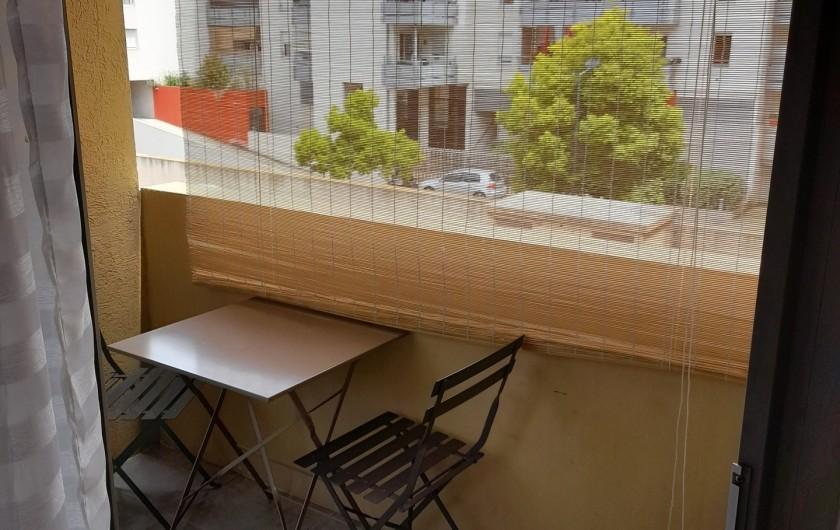 Location de vacances - Appartement à Sète - Balcon