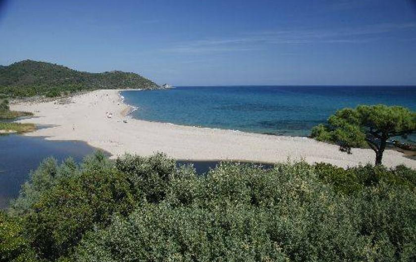 Location de vacances - Bungalow - Mobilhome à Sainte-Lucie de Porto-Vecchio - plage sauvage