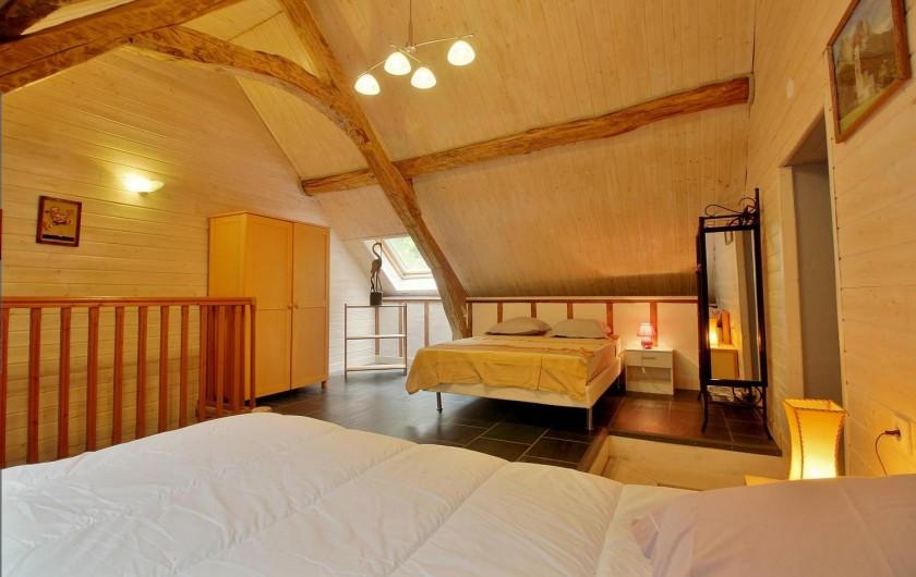 Location de vacances - Gîte à Gavarnie-Gèdre - Chambre 1 - 2 lits double