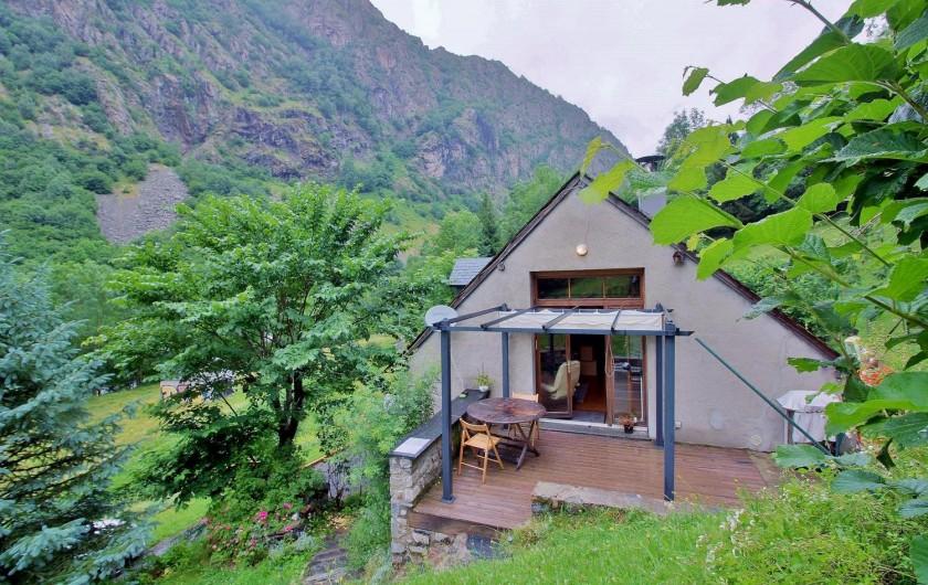 Location de vacances - Gîte à Gavarnie-Gèdre - Vue