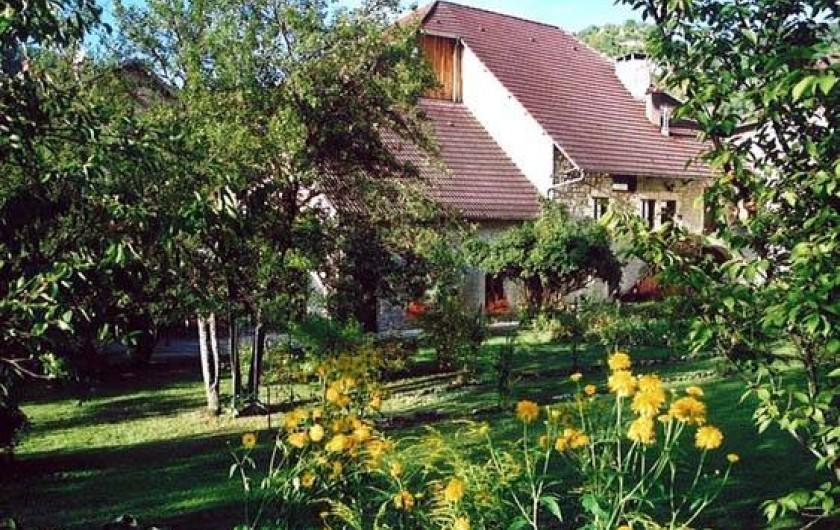 Location de vacances - Gîte à Vuillafans - Extérieur