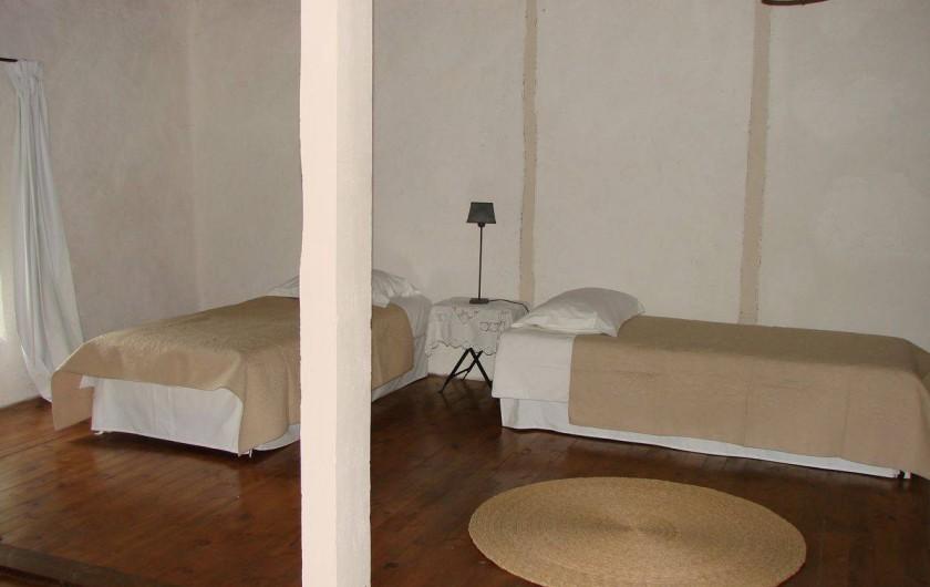 Location de vacances - Gîte à Vernoux-en-Vivarais - La grande maison (chambre2)