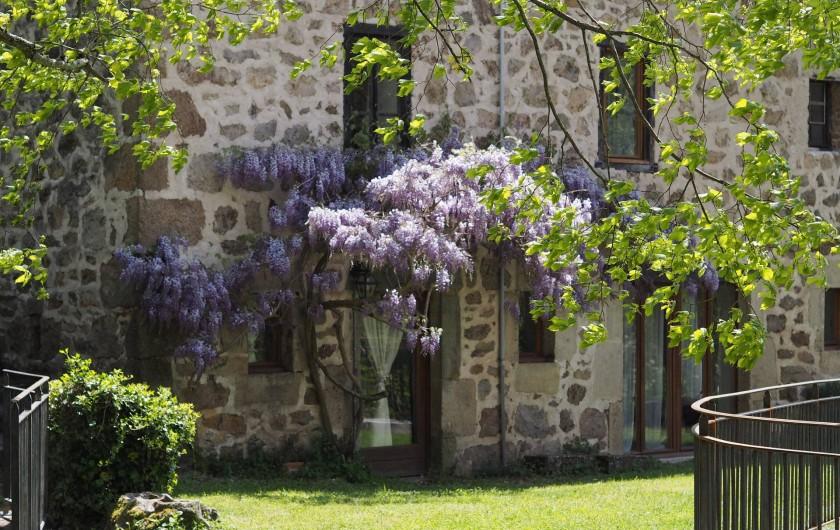 Location de vacances - Gîte à Vernoux-en-Vivarais - La grande maison (6personnes)