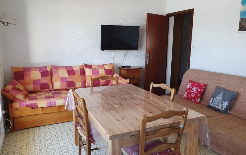 Location de vacances - Appartement à Lans-en-Vercors - Coté Prairie salle à manger