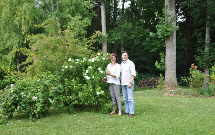 Location de vacances - Chambre d'hôtes à Saint-Loup-de-Naud - Véronique et Patrick vous accueillent dans leur écrin de verdure