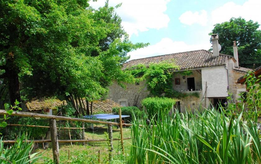 Location de vacances - Gîte à Lendou-en-Quercy - coté Est du gite