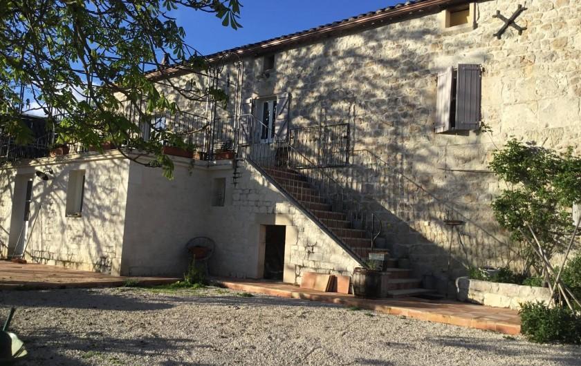 Location de vacances - Gîte à Lendou-en-Quercy - coté sud ouest