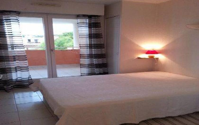 Location de vacances - Appartement à Cavalaire-sur-Mer - Chambre1