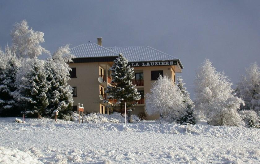 Location de vacances - Appartement à Fontcouverte-la-Toussuire - c'est l'hiver