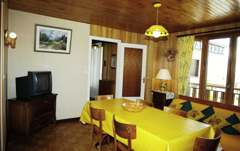 Location de vacances - Appartement à Fontcouverte-la-Toussuire - salle à manger
