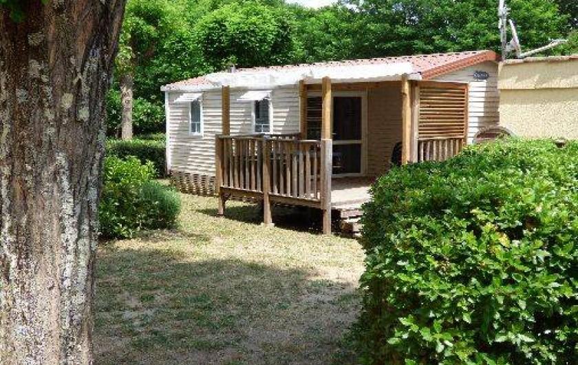 Location de vacances - Camping à Salavas - Mobil home O'Hara 784, 2 chambres climatisé