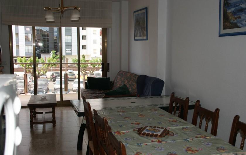 Location de vacances - Appartement à Empuriabrava - Vue du balcon