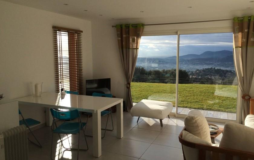 Location de vacances - Villa à Ollioules - salon