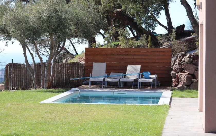 Location de vacances - Villa à Ollioules - piscine 3x5