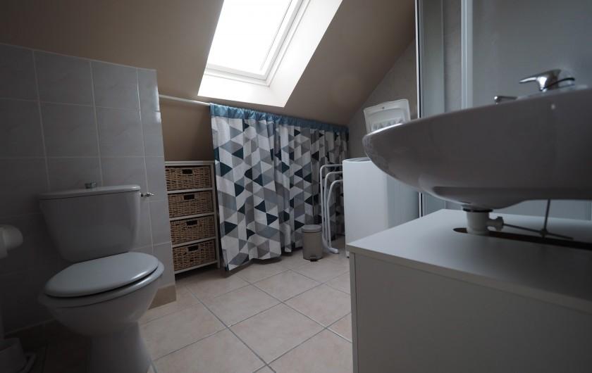 Location de vacances - Appartement à Merville-Franceville-Plage - Studio S.D.D., W.C.