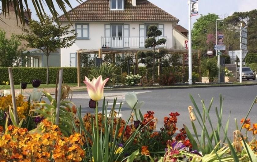 Location de vacances - Appartement à Merville-Franceville-Plage - Dans charmante maison, un appartement et un studio à louer