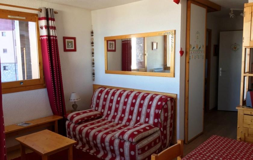 Location de vacances - Appartement à Vallandry - Salon